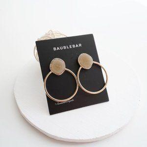 NWT Anthro BaubleBar Pe Lutana Druzy Stud Earrings